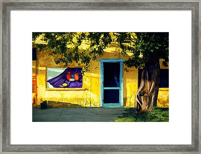 Beauty Before Me Framed Print by Cindy McIntyre
