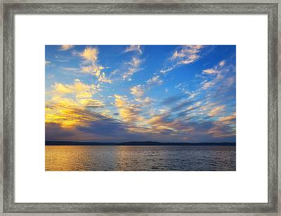Beauty Before The Storm Framed Print