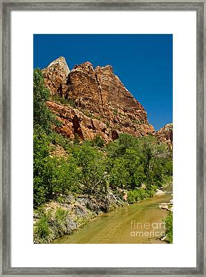 Framed Print featuring the photograph Beauty Canyon by Boon Mee