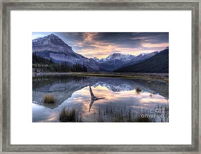 Beauty Creek Pre-dawn Framed Print by Brian Stamm