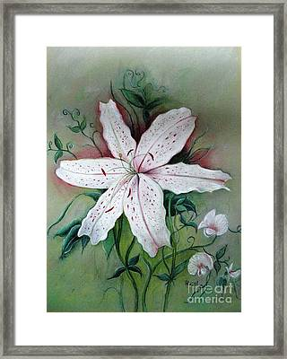Framed Print featuring the painting Beauty For Ashes by Hazel Holland