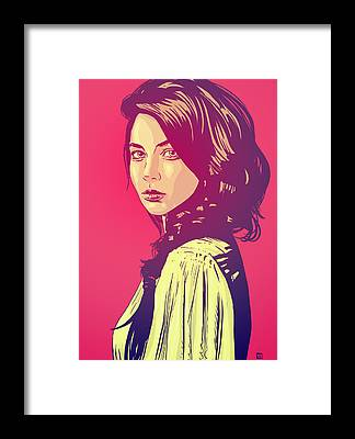 Pop Art Portraits Framed Prints