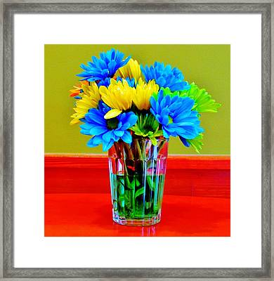 Beauty In A Vase Framed Print