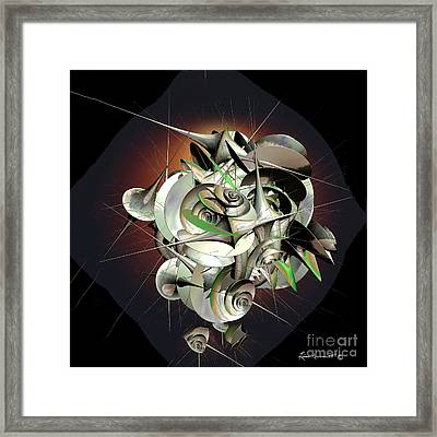 Beauty In Chaos Framed Print