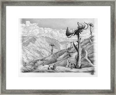 Beauty In Distance Framed Print