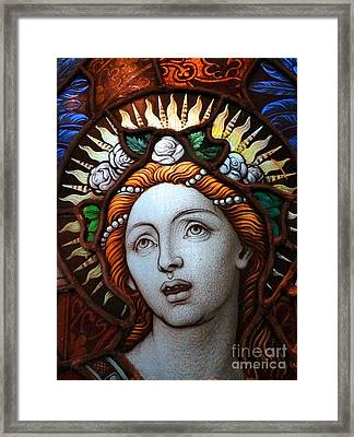 Beauty In Glass Framed Print by Ed Weidman