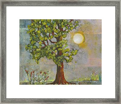 Morning Has Broken Framed Print by Blenda Studio