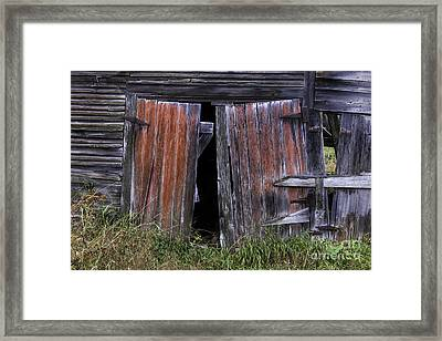 Beauty In The Abandoned Framed Print by Thomas Schoeller