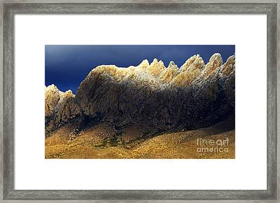 Beauty In The Land Of Enchantment Framed Print by Bob Christopher