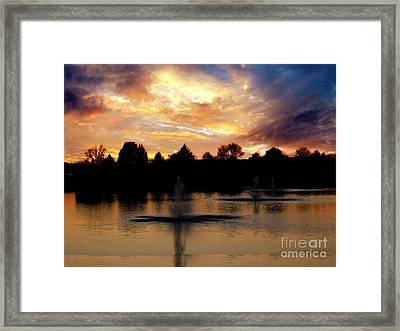 Beauty In Threes Framed Print by Scott B Bennett
