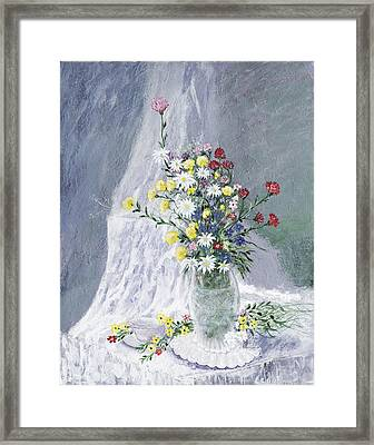 Beauty Is Within Framed Print by Leo Gehrtz