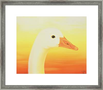 Beauty Framed Print by Magdolna Ban