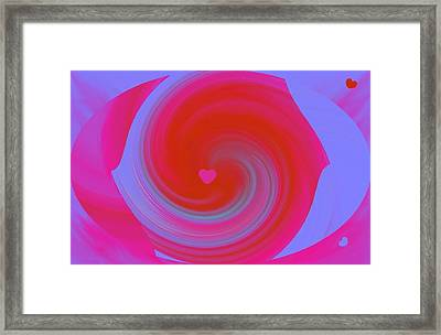 Framed Print featuring the digital art Beauty Marks by Catherine Lott