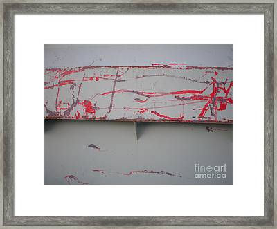 Beauty Of A Dumpster II Framed Print