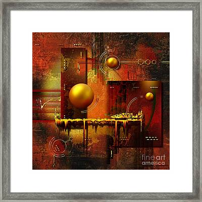 Beauty Of An Illusion Framed Print