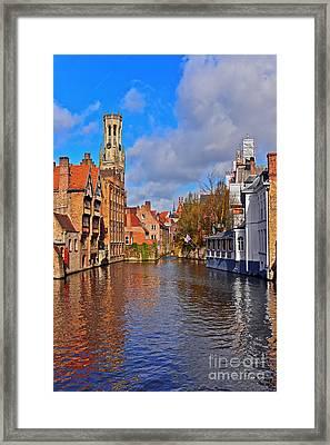 Beauty Of Belgium Framed Print
