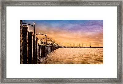 Beauty Of Color And Wonder Of The World Framed Print
