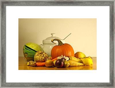 Beauty Of Fall Framed Print by Torbjorn Swenelius