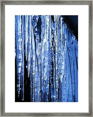 Beauty Of Ice Framed Print