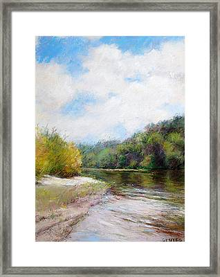 Beauty Of Nature  Framed Print by Nancy Stutes