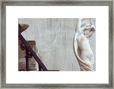 Beauty Of Rust Framed Print by Steven Macanka