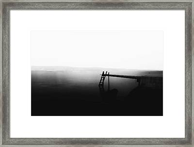 Beauty Of Silence Framed Print by Thomas Berger
