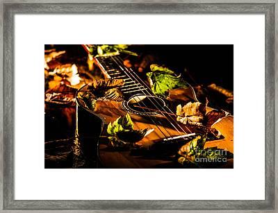 Beauty Of String's Framed Print