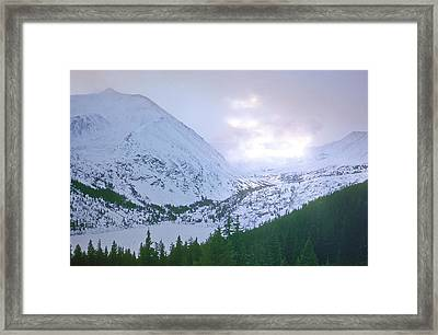 Beauty Of The Rockies Framed Print by Kellice Swaggerty
