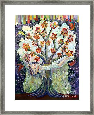 Beauty Of Tree Framed Print by Manami Lingerfelt
