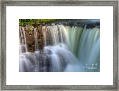 Beauty Of Water Framed Print by Bob Christopher
