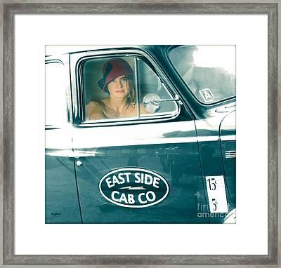 Beauty On The East Side  Framed Print by Steven  Digman