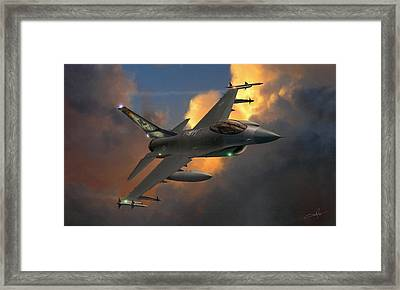 Beauty Pass Framed Print