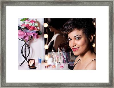 Beauty Portrait Framed Print by Artur Bogacki