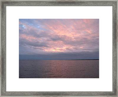 Framed Print featuring the photograph Beauty Seen In Clouds by Joetta Beauford