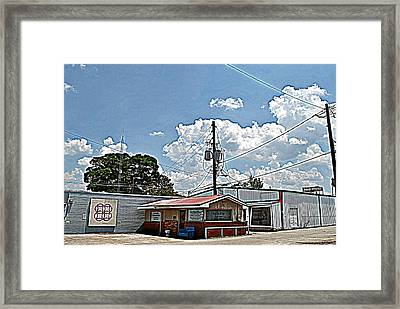 Beauty Shop Framed Print by Beverly Hammond