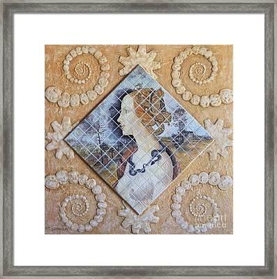 Beauty - Simonetta Cattaneo Framed Print by Anna Maria Guarnieri
