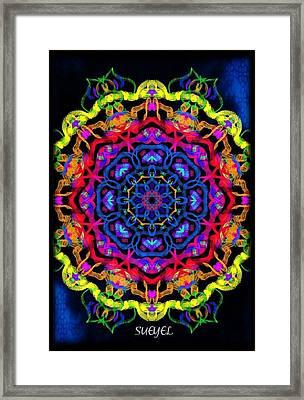 Beauty Framed Print by Sueyel Grace