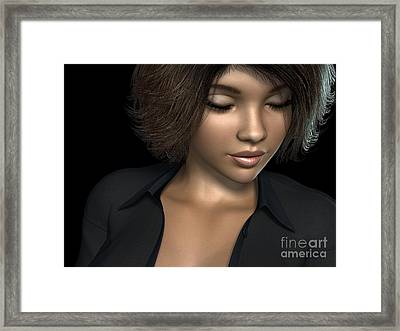Beauty Was Her Name Framed Print