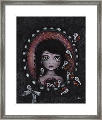 Beauty Within Me Framed Print by  Abril Andrade Griffith