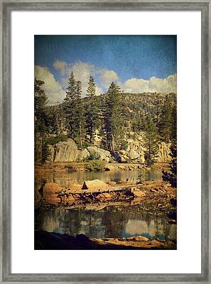 Beauty You Find Along The Way Framed Print by Laurie Search