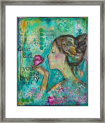 Beautyfull Framed Print
