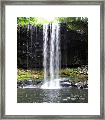 Framed Print featuring the photograph Beaver Falls by Chalet Roome-Rigdon