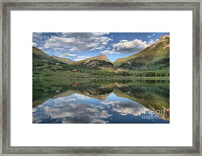Beaver Lake In Marble Colorado Framed Print