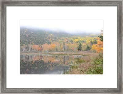 Beaver Lake Maine Framed Print