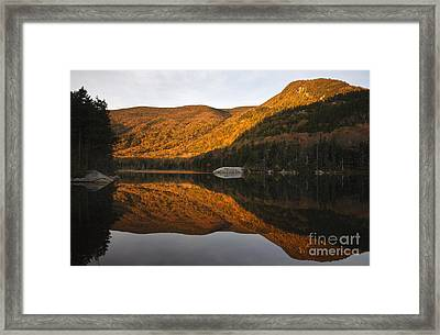 Beaver Pond - Kinsman Notch New Hampshire Framed Print by Erin Paul Donovan