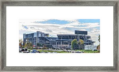 Beaver Stadium Game Day Framed Print
