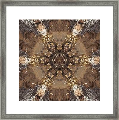 Beaver's Work Two Framed Print