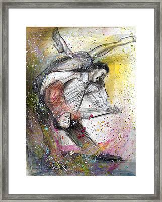 Bebop Dancing2 Framed Print