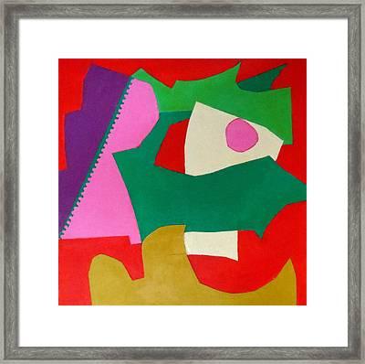 Bebop Framed Print by Diane Fine