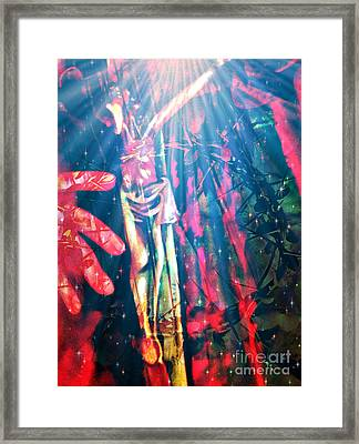 Because He Lives Framed Print by Fania Simon